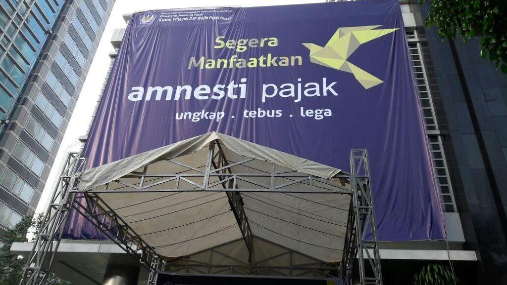 Jelang Akhir Periode I, Uang Tebusan Tax Amnesty di Kanwil Pajak Ini Meningkat