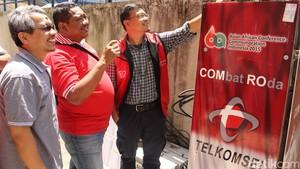 PON 2016 Diperkuat Jaringan Combro Telkomsel