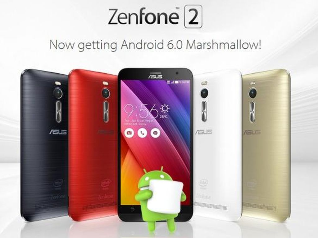 ZenFone 2 Akhirnya Cicipi Android Marshmallow
