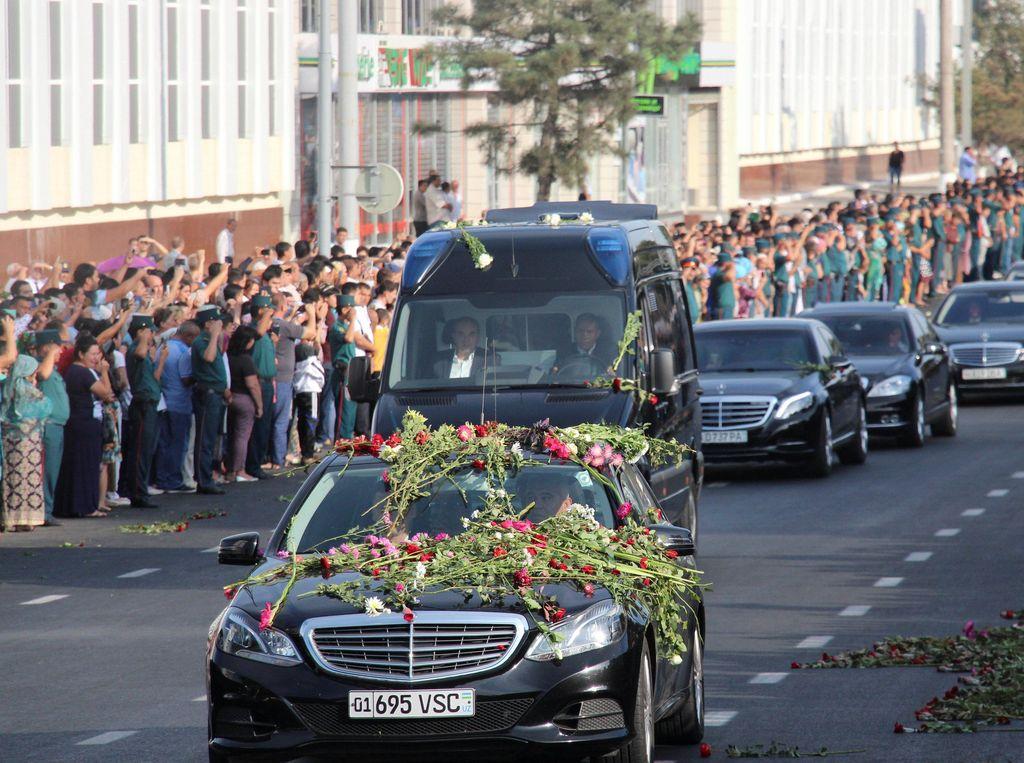 Presiden Uzbekistan Meninggal Dunia