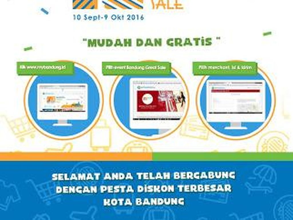 Bandung Great Sale Diperpanjang Hingga 30 September