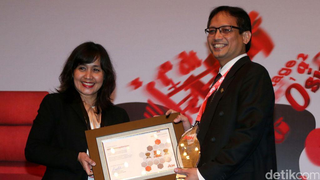 BPJS Ketenagakerjaan Raih Best Empleyer Award 2016