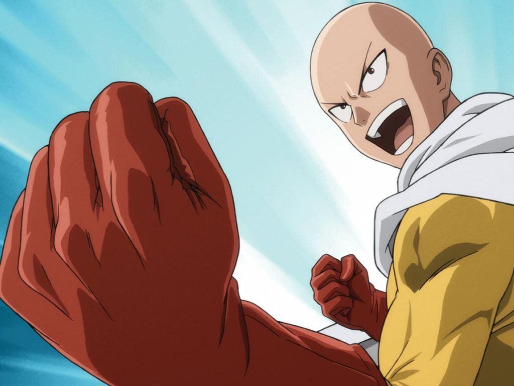 Anime One Punch Man Tayang di Animax 12 September