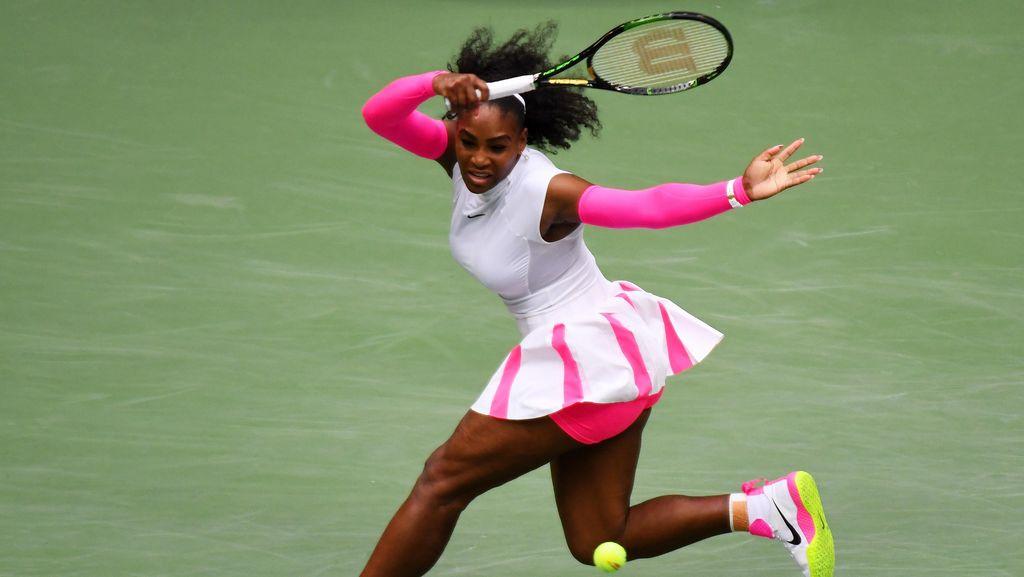 Rekor Iringi Langkah Serena ke Perempatfinal