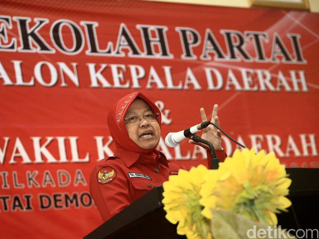 Pilkada Surabaya, Hasto: Tidak Benar Saya Berbeda dengan Risma