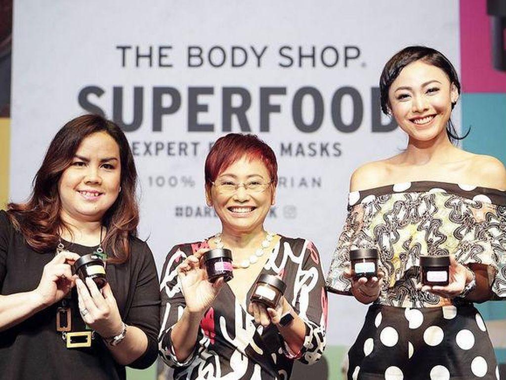 The Body Shop Rilis 5 Masker yang Bisa Dipakai Bersamaan di Wajah