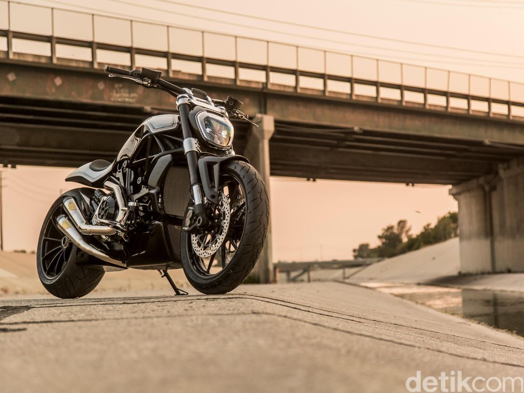 Ducati XDiavel Roland Sands, Si Buas yang Cantik
