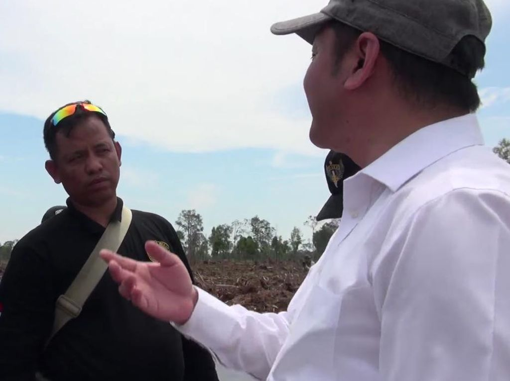 Sidak BRG ke Lahan RAPP di Riau Dihalangi, Menteri LHK: Jumat Nanti Kami Panggil