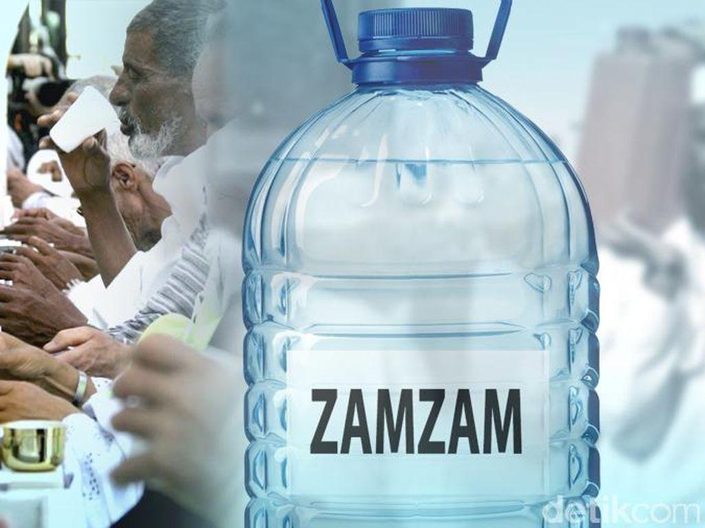 Air Zamzam Dijual Secara Online Saat Ramadhan