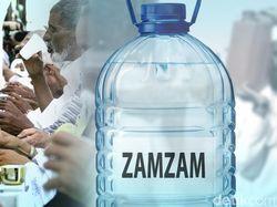 Tidak Ada Air Zamzam untuk Jemaah Umroh Saat Pandemi