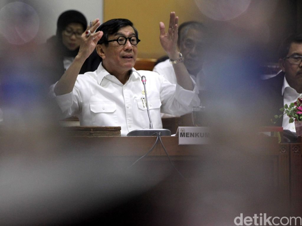 Menkum HAM ke Buron Kasus Century: You Can Run But You Cant Hide
