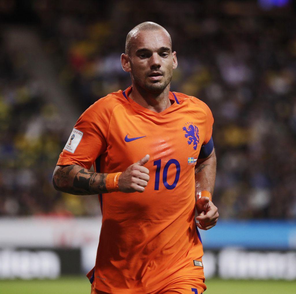 Sneijder Pensiun dari Timnas Belanda