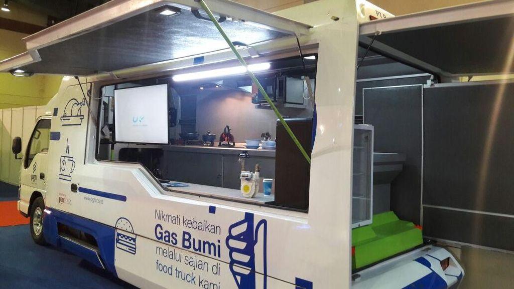 Pakai Food Truck Gas Bumi Bikin Bisnis Kuliner Lebih Hemat