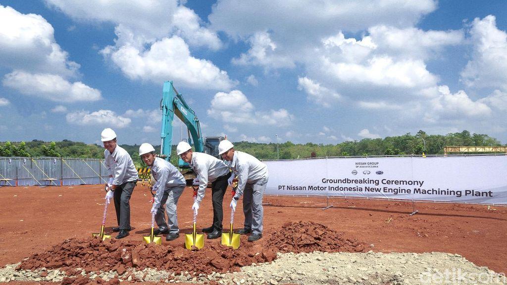 Nissan Mulai Bangun Pabrik Mesin dan Transmisi di Purwakarta