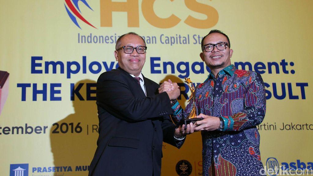 BPJS Ketenagakerjaan Raih Penghargaan dari IHCS 2016