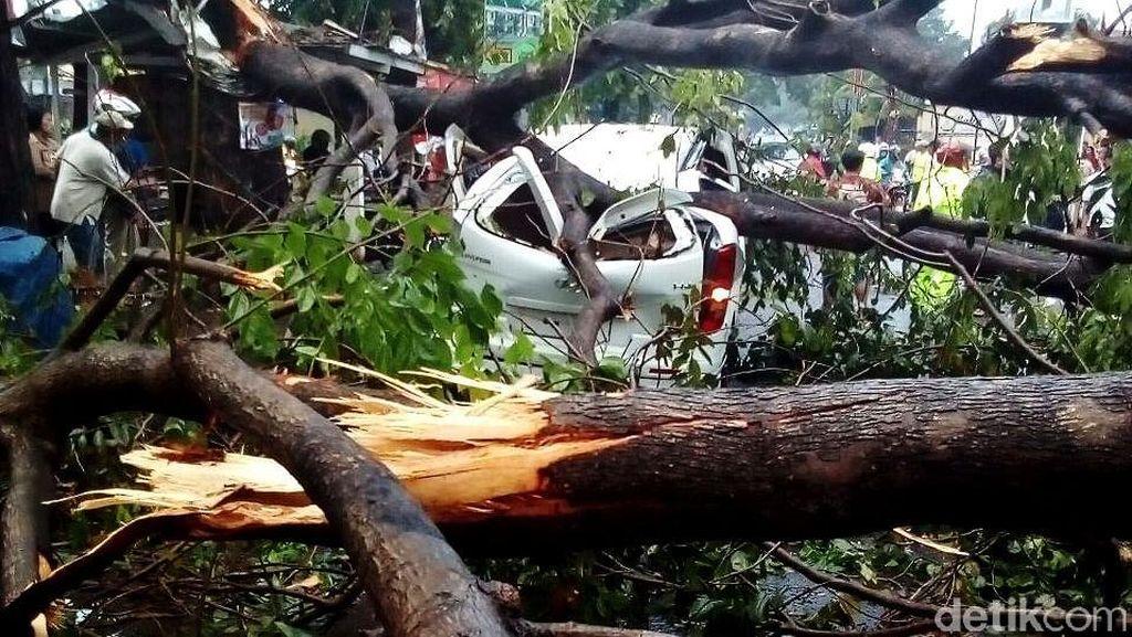 BMKG: Angin Kencang di Jabodetabek karena Transisi Musim