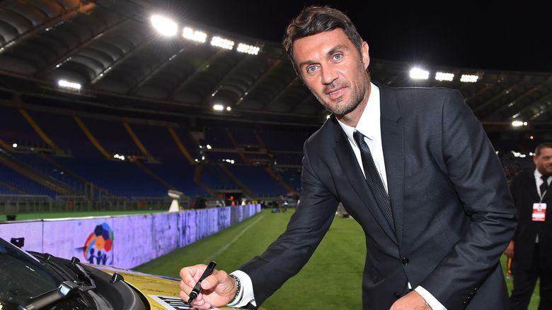 42 Menit Debut Tenis Paolo Maldini