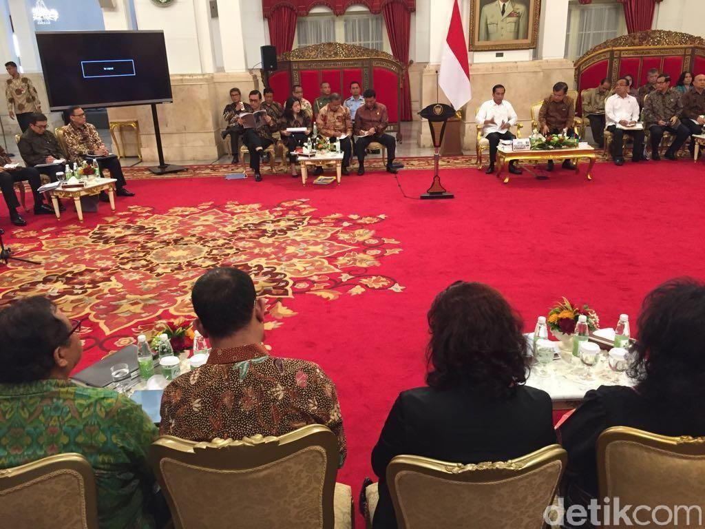 Menangkan Pertarungan Global, Ini Arahan Jokowi ke Menteri-menteri