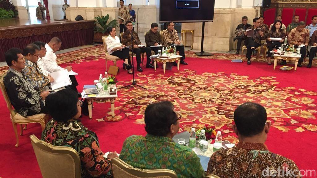 Jokowi: Pertarungan Banyak Negara Berebut Kue Ekonomi Sangat Sengit