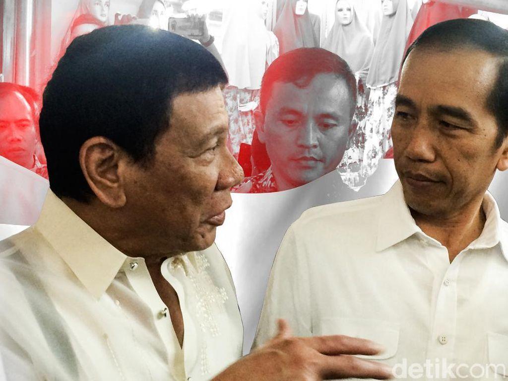 Bantuan Duterte Dinanti demi Bebaskan Sandera WNI