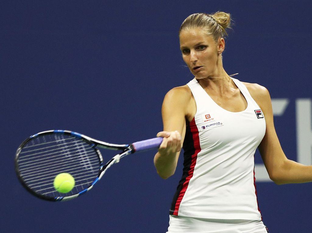 Singkirkan Serena Williams, Pliskova Lolos ke Final