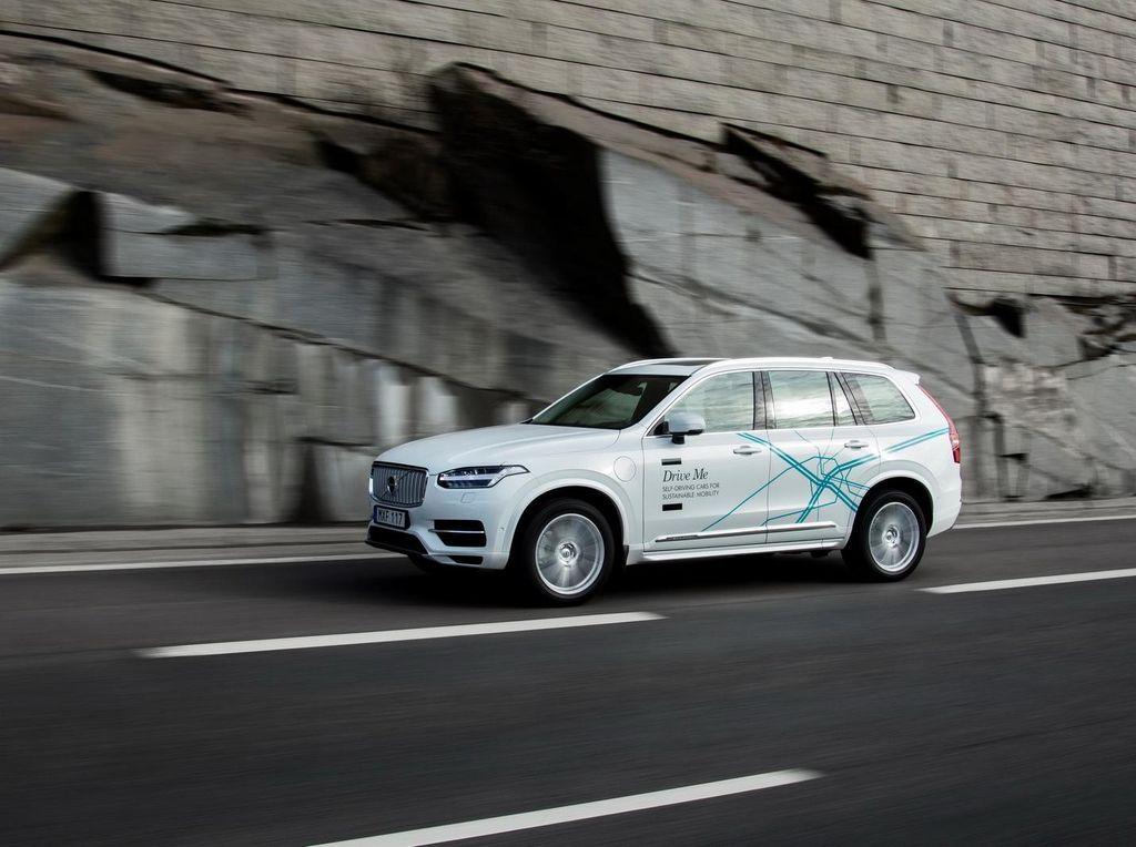 Volvo Ngebet Kenalkan Mobil Otomatis