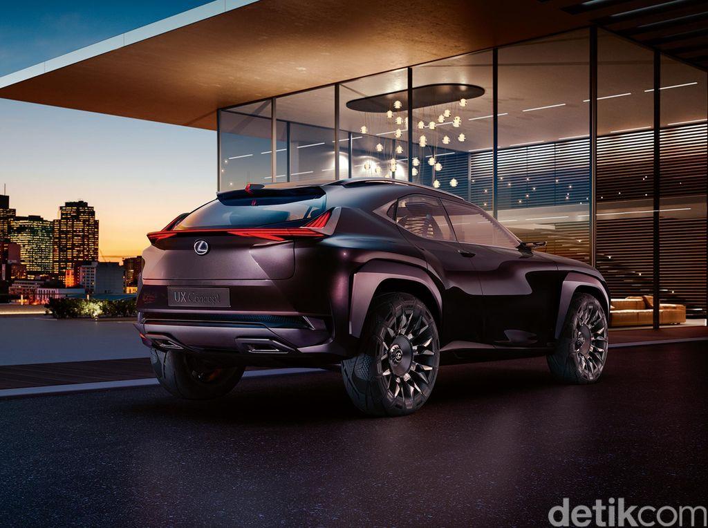 Lexus Rilis SUV Anyar, Versi Mewah dari Toyota C-HR