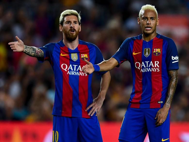 Janji Messi Bantu Neymar Raih Ballon dOr di Barcelona