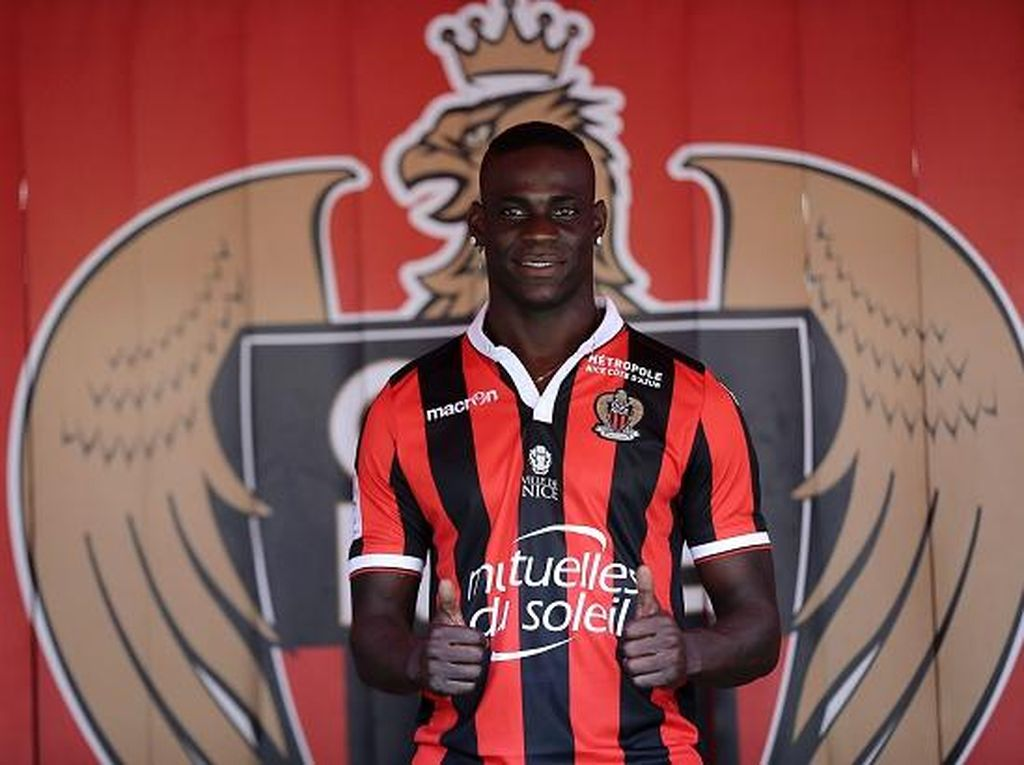 Debut Manis Balotelli di Nice: Dua Gol dan Tiga Poin