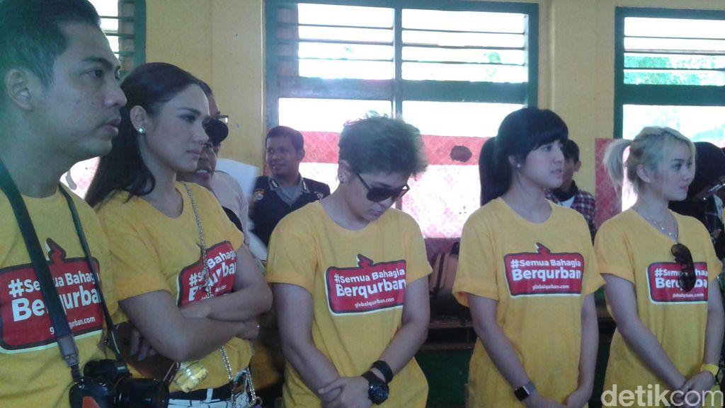 Mulan Jameela Hingga The Virgin Potong Kurban di Banten