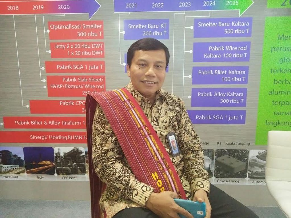 Holding BUMN Tambang Siap Ambil 10,64% Saham Freeport