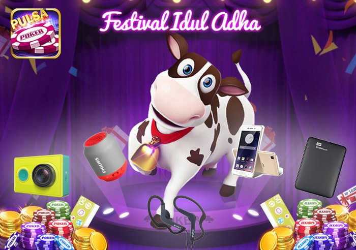 Foto: Game Festival Idul Adha Poker Time