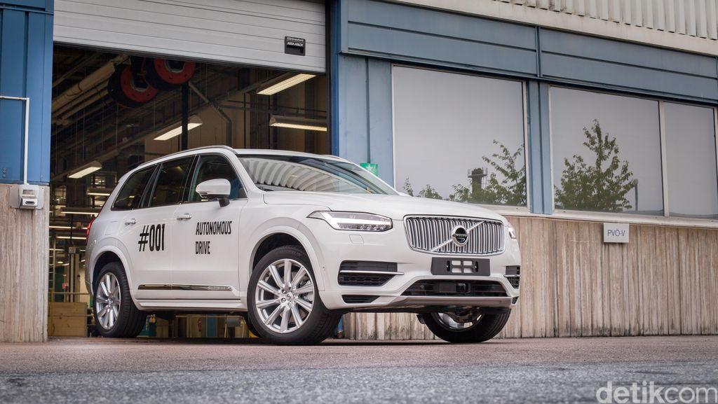 SUV Tanpa Pengendara Volvo