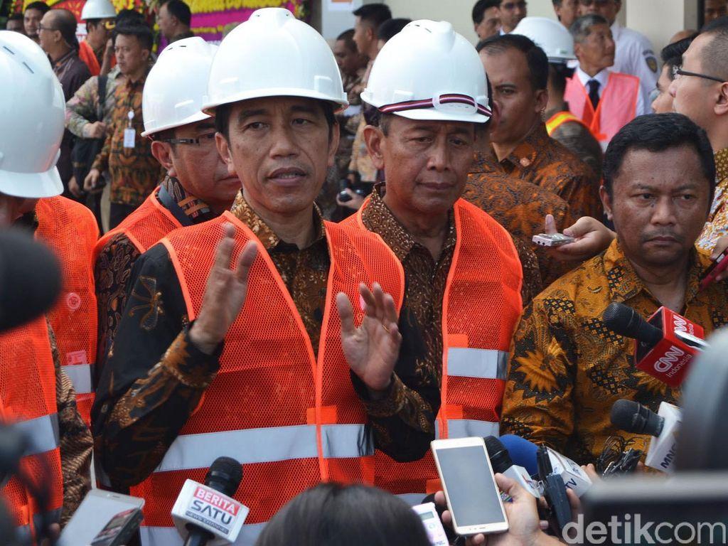 Jokowi Resmikan New Priok Container Terminal