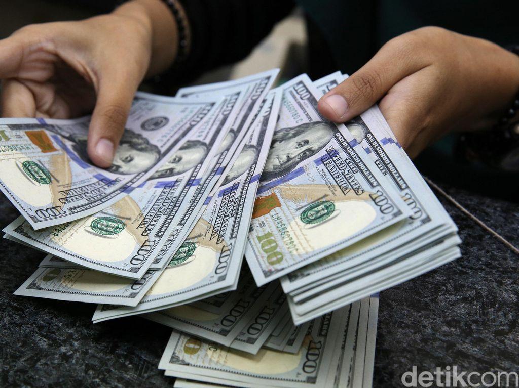 Dolar AS Makin Berotot, Rupiah Digencet ke Rp 14.550