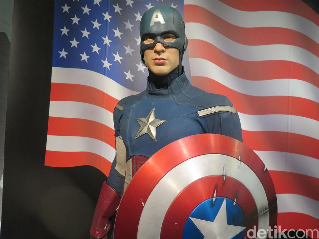 Demam Avengers: Endgame, Adidas Rilis Sneakers Captain America