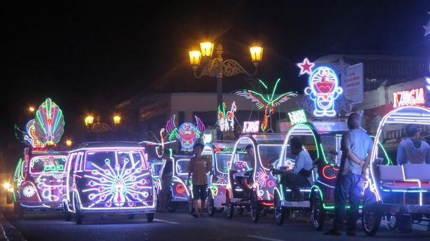 Suasana di Alun-alun Kidul Yogyakarta (Fitraya/detikTravel)