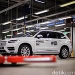 Sudah Diproduksi, Mobil Otonom Volvo Siap Diuji di Jalanan Umum