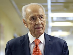 Usai Terserang Stroke, Eks Presiden Israel Shimon Peres Kritis Tapi Stabil