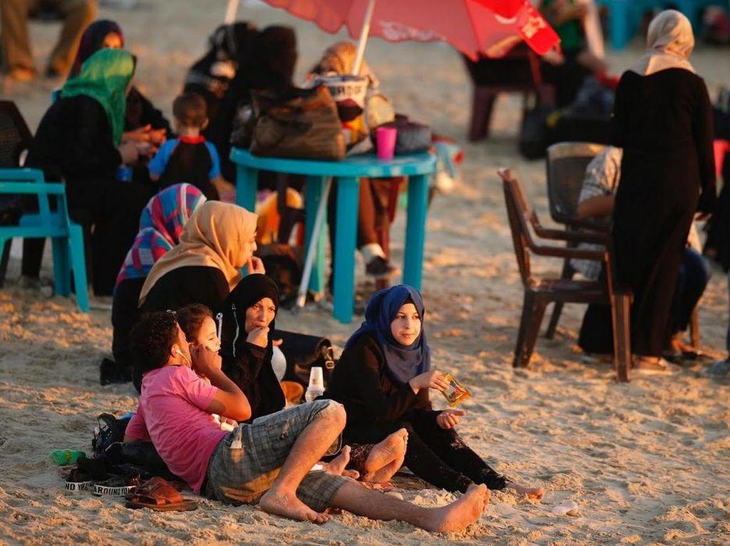 Mengharukan, Begini Liburan Ala Rakyat Palestina