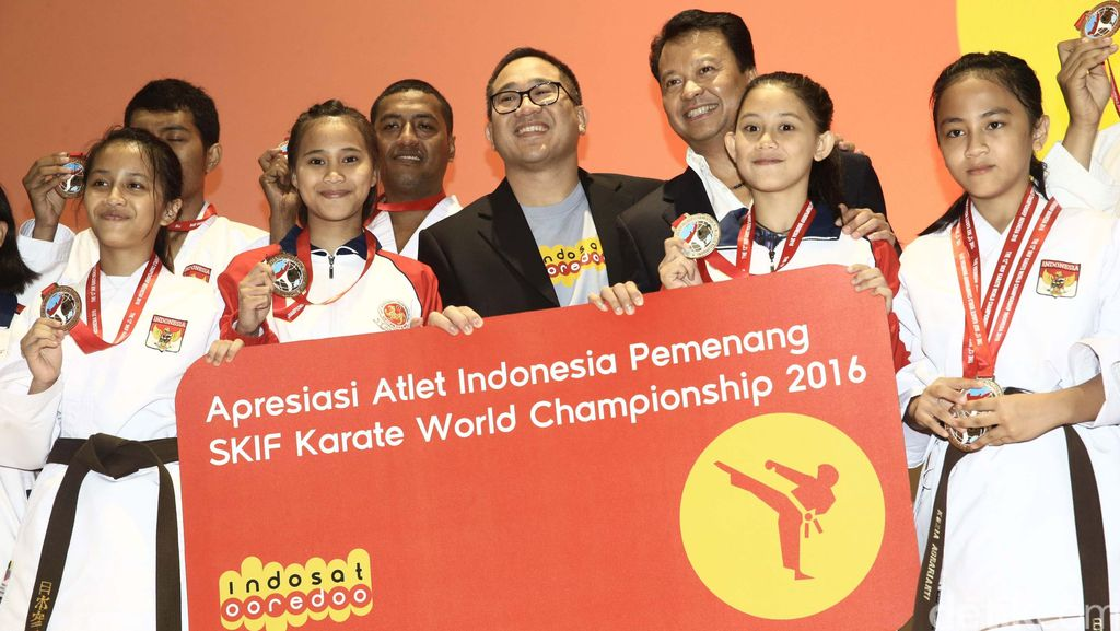 Indosat Ooredoo Apresiasi Karate-do Nasional