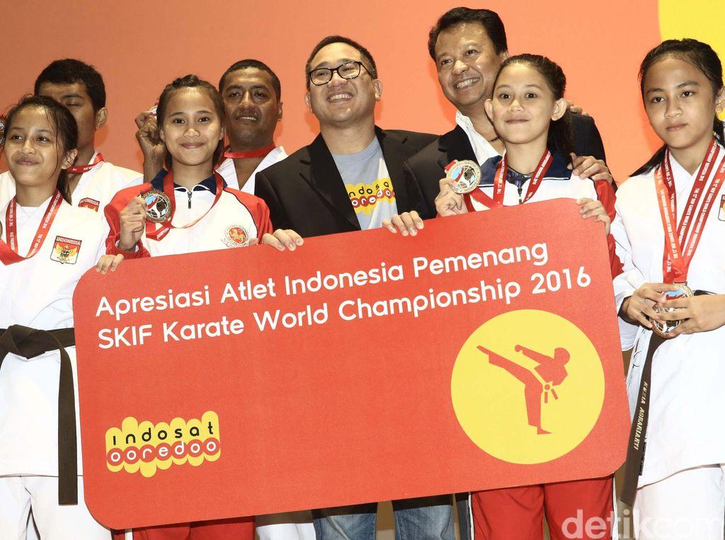 Indosat Ooredoo Apresiasi Karate-do Nasional