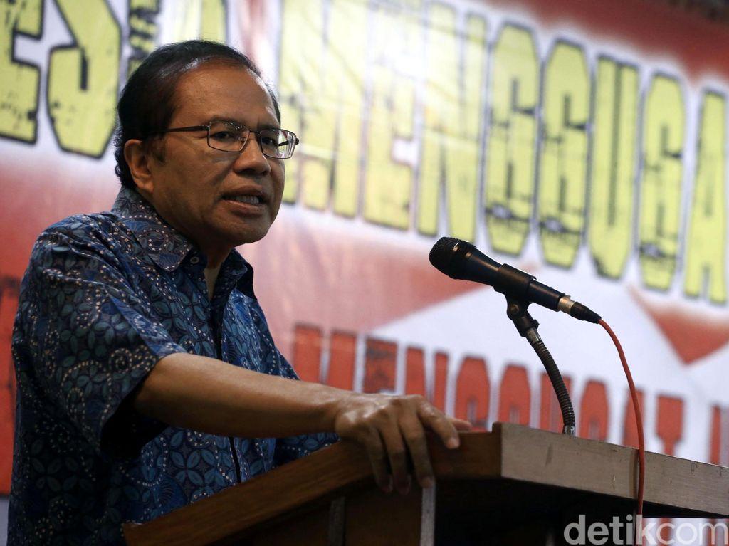 Rizal Ramli Kritik Target Ekonomi Ridwan Kamil: Pencitraan Doang