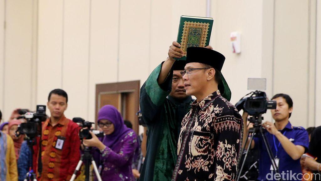 Kecuk Suharyanto Dilantik Jadi Kepala BPS