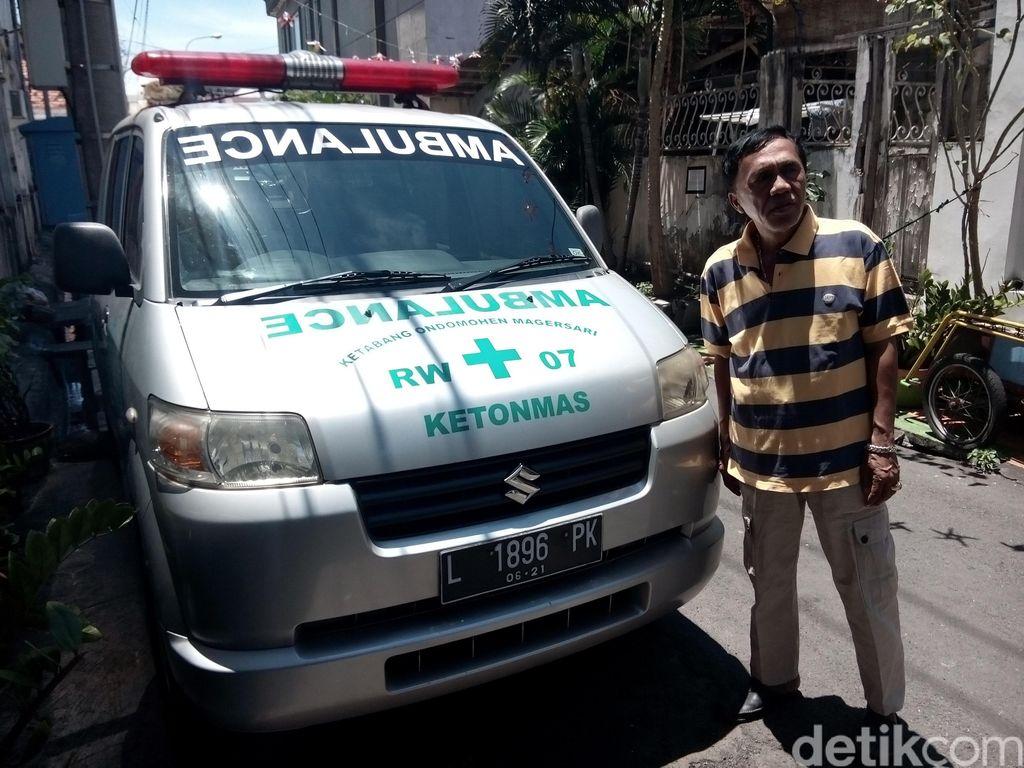 Kisah Sukses Bos Sate Klopo, Sedekah Ambulans Gratis untuk Warga Miskin