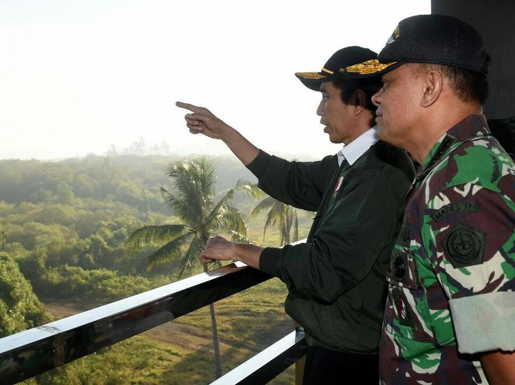 Pergantian Panglima, Jenderal Gatot: Saya Tak Diberi Tahu Presiden