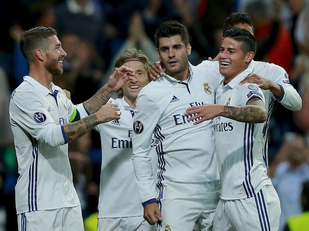 Madrid Memanfaatkan Kelengahan Sporting di Ujung Laga