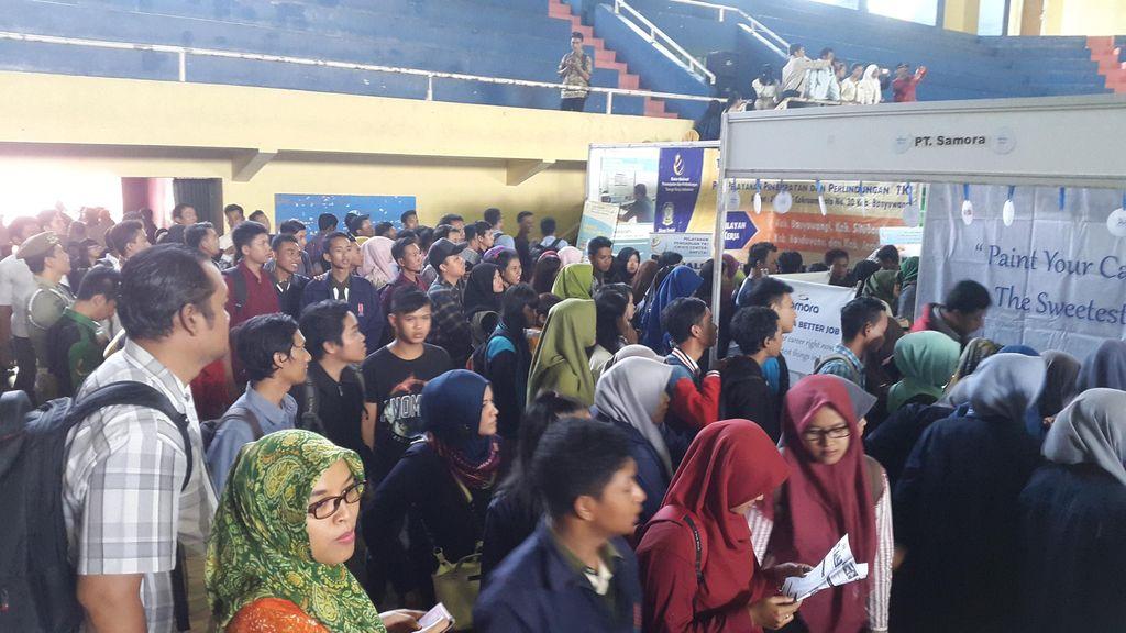 5 Ribu Lowongan Kerja di Job Fair Banyuwangi Dijubeli Sarjana Muda