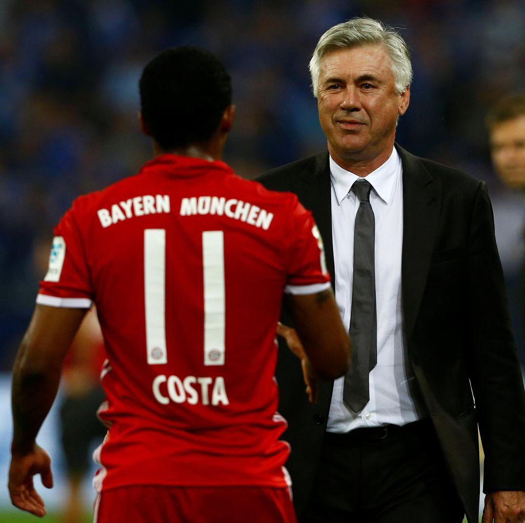 Ancelotti: Siapa Bilang Costa Tak Bahagia di Bayern?