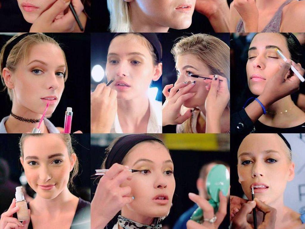 Konsep Makeup Wardah yang Diterapkan untuk New York Fashion Week 2017